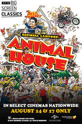 Animal House (1978) presented by TCM showtimes and tickets