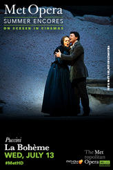 Met Summer Encore: La Boheme showtimes and tickets
