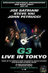 G3 - Live in Tokyo showtimes and tickets