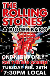 Rolling Stones showtimes and tickets