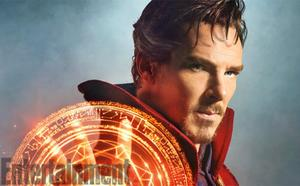 First Look: Here's Benedict Cumberbatch As Marvel's Doctor Strange