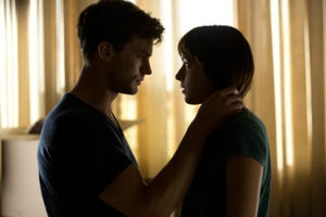 News Briefs: 'Fifty Shades of Grey' Gets Intimate (Photo); Simon Pegg Is Cowriting 'Star Trek 3'