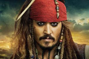 New 'Pirates' Posters - Depp, Rush and Cruz!