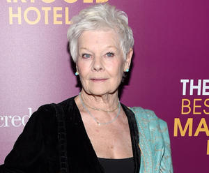 """Judi Dench at the New York Premiere of """"The Second Best Exotic Marigold Hotel."""""""