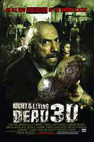 "Poster art for ""Night of the Living Dead 3D."""