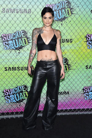 Check out the cast of the California premiere of 'Suicide Squad'