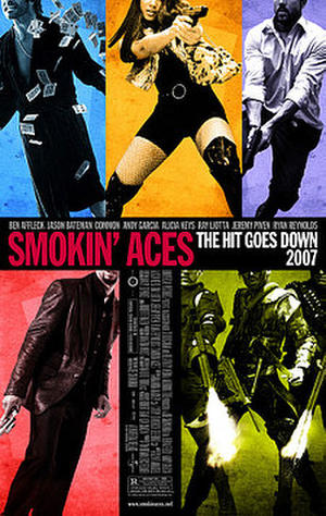 """Poster art for """"Smokin' Aces."""""""