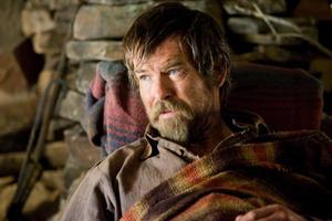 "Pierce Brosnan as Gideon in ""Seraphim Falls."""