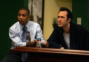 """Cuba Gooding Jr. and Mars Callahan in """"What Love Is."""""""
