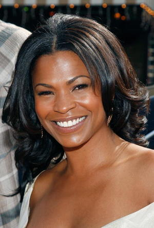 """Are We Done Yet?"" star Nia Long at the L.A. premiere."