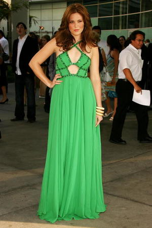 """Mandy Moore at the Los Angeles premiere of """"License to Wed."""""""