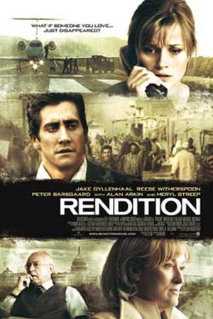 "Poster art for ""Rendition."""