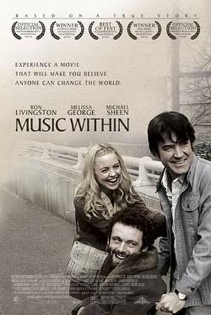 """Poster art for """"Music Within."""""""