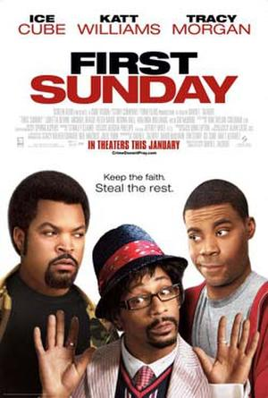 """Poster art for """"First Sunday."""""""