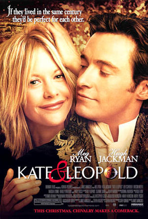 "Poster art for ""Kate and Leopold."""