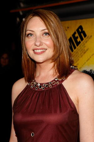 """Producer/Actress Heather Juergensen at the L.A. premiere of """"The Hammer."""""""