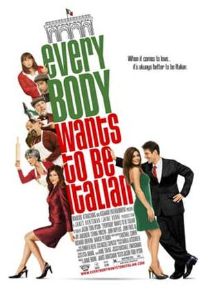 """Poster art for """"Everybody Wants to Be Italian."""""""