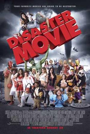 "Poster art for ""Disaster Movie."""