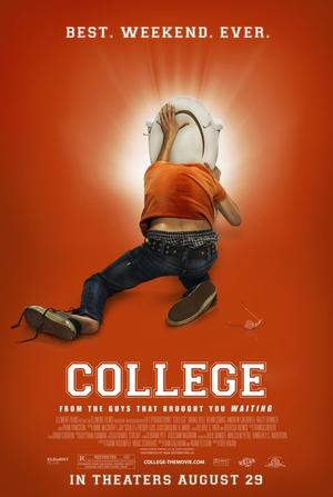 """Poster art for """"College."""""""
