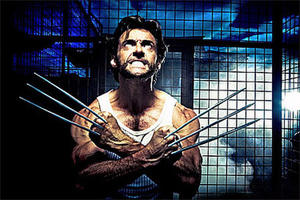 "Hugh Jackman in ""X-Men Origins: Wolverine."""