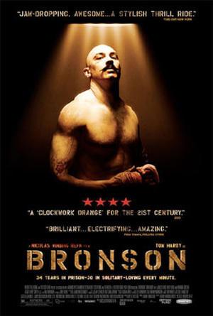 """Poster art for """"Bronson."""""""