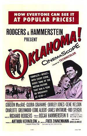 "Poster art for ""Oklahoma!"""
