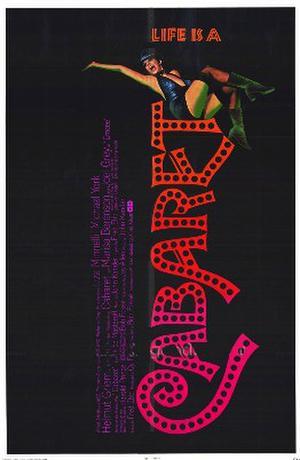 """Poster art for """"Cabaret."""""""