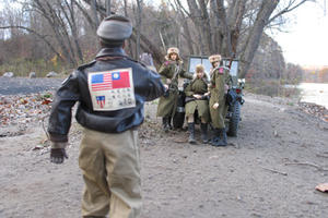 """A scene from """"Marwencol"""""""