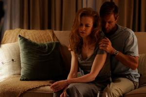 "Nicole Kidman as Becca and Aaron Eckhart as Howie in ""Rabbit Hole."""