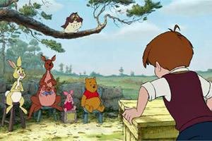 "A scene form ""Winnie the Pooh"""
