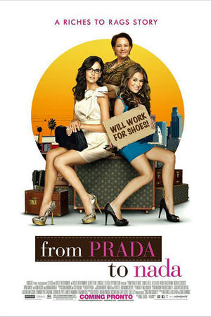 "Poster art for ""From Prada to Nada"""