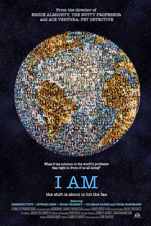 "Poster art for ""I Am."""