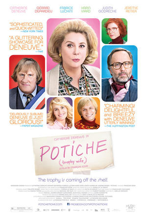 "Poster art for ""Potiche."""