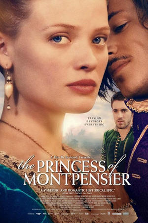 "Poster art for ""The Princess of Montpensier."""