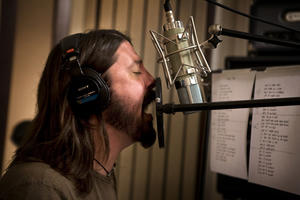 """A scene from """"Foo Fighters Back and Forth."""""""
