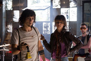 "Orlando Bloom as The Stain and Juliette Lewis as Ariel in ""Sympathy for Delicious."""