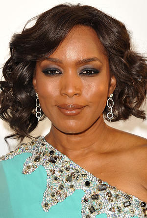 """Angela Bassett at the California premiere of """"Jumping The Broom."""""""