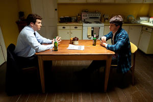 """Patrick Brammall as Tim and Ryan Kwanten as Griff in """"Griff the Invisible."""""""