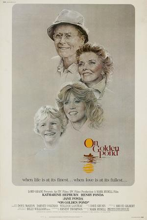 "Poster art for ""On Golden Pond."""
