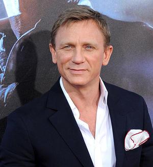 "Daniel Craig at the California premiere of ""Cowboys & Aliens"" during the Comic-Con 2011."