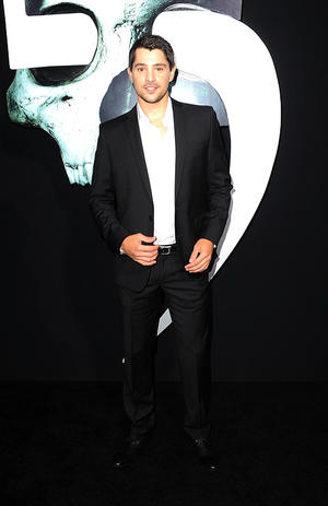 """Nicholas D'Agosto at the California premiere of """"Final Destination 5."""""""