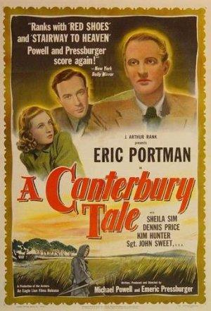 """Poster art for """"A Canterbury Tale."""""""
