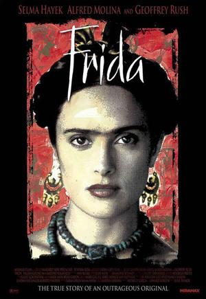 """Poster art for """"Frida."""""""