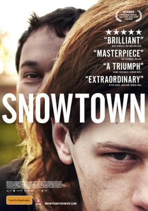 "Poster art for ""Snowtown."""