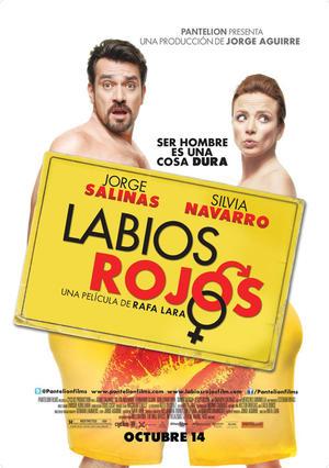 "Poster art for ""Labios Rojos."""