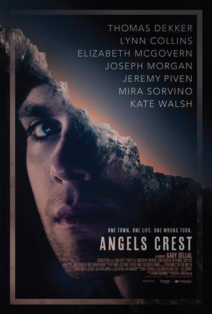 "Poster art for ""Angels Crest."""