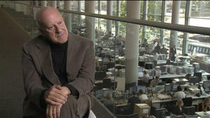 """Norman Foster in """"How Much Does Your Building Weigh, Mr Foster?"""""""