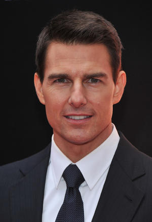 "Tom Cruise at the New York premiere of ""Mission: Impossible - Ghost Protocol."""