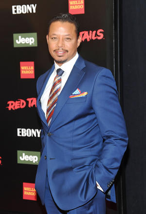 """Terrence Howard at the New York premiere of """"Red Tails."""""""
