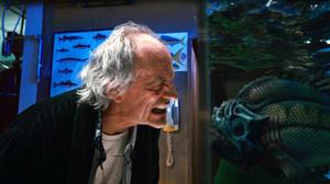 "Christopher Lloyd in ""Piranha 3DD."""